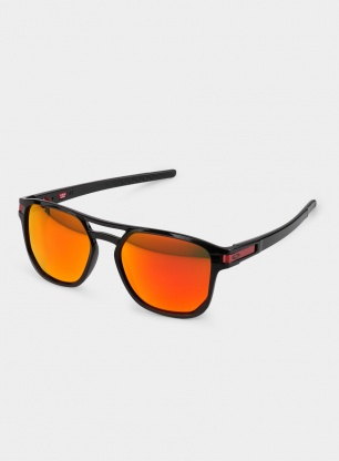 Okulary Oakley Latch Beta - polished black/prizm ruby