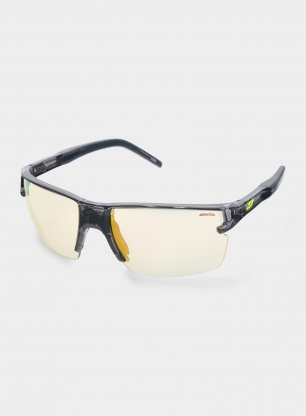 Okulary rowerowe Julbo Outline - Reactiv 1-3 - black/yellow