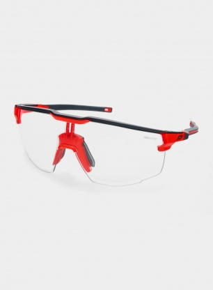 Okulary rowerowe Julbo Ultimate - Reactiv 0-3 - black/orange