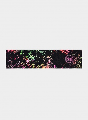 Opaska Buff Coolnet UV+ Headband Slim - speckle black
