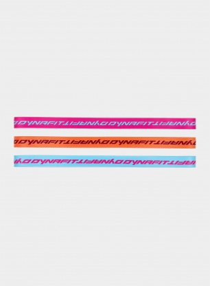 Opaski Dynafit Running Hairband - fluo mix