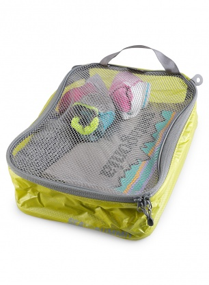 Organizer Sea To Summit Mesh Garment Bag Travelling Light - lime/grey