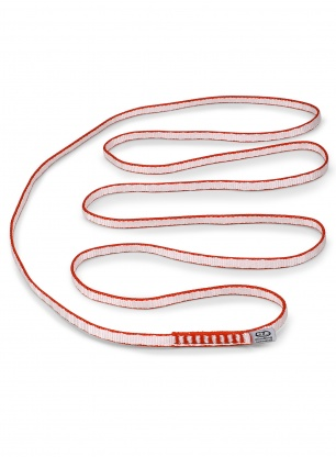 Pętla Climbing Technology Looper DY Pro 120 cm - white/red