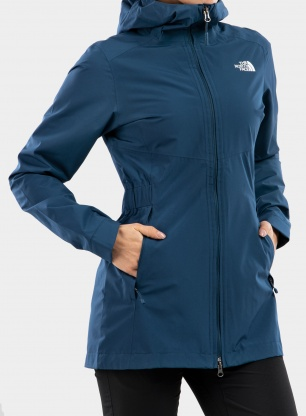 Płaszcz damski The North Face Hikesteller Parka Shell - blue