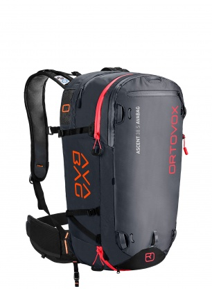 Plecak lawinowy Ortovox Ascent 38 S Avabag - black anthracite