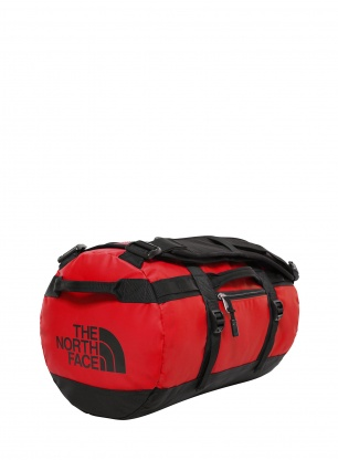 Podróżna torba The North Face Base Camp Duffel S - red/tnf black