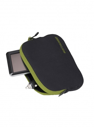 Pokrowec Sea To Summit Padded Pouch L - lime/black