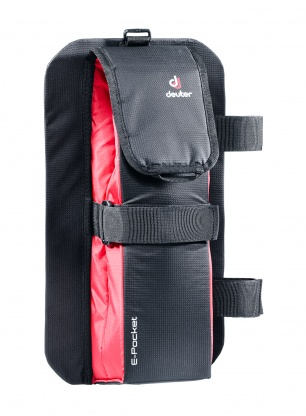 Pokrowiec Deuter E-Pocket - black/black