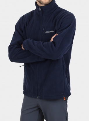 Polarowa bluza Columbia Fast Trek II Full Zip Fleece - navy
