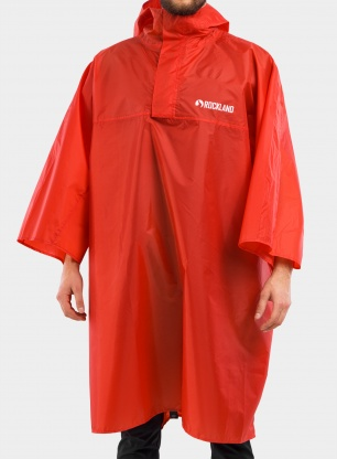 Poncho Rockland Storm - red
