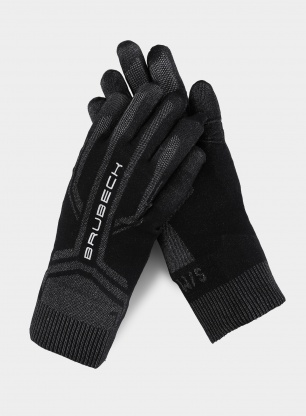 Rękawiczki Brubeck Thermoactive Gloves - black