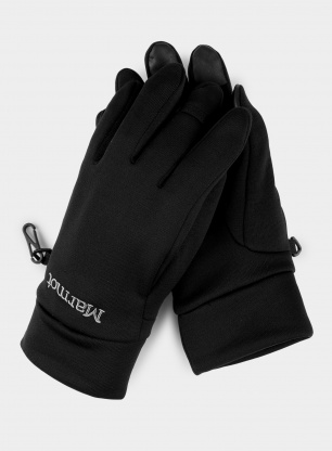 Rękawice Marmot Power Stretch Connect Glove - black