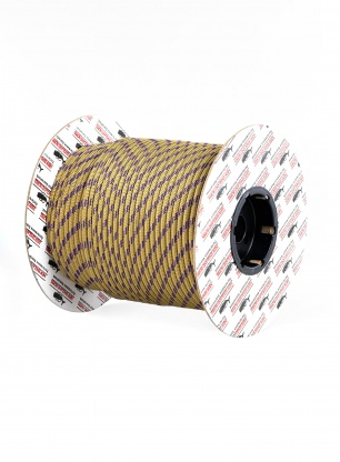 Repsznur 6mm Teufelberger Accessory Cord na metry - gold/purple