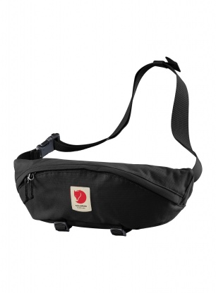 Saszetka Fjallraven Ulvo Hip Pack Large - black