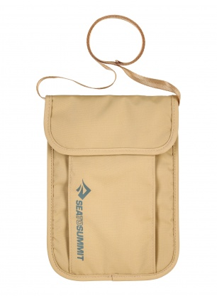 Saszetka Sea To Summit Neck Pouch - sand
