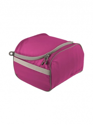 Sea To Summit Travelling Light Toiletry Cell - berry/grey