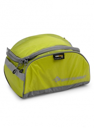 Kosmetyczka Sea To Summit Travelling Light Toiletry Cell - lime/grey