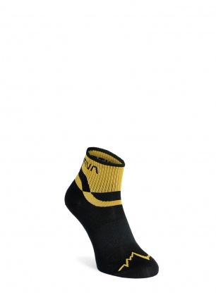 Skarpety biegowe La Sportiva Trail Running Socks - black/yellow