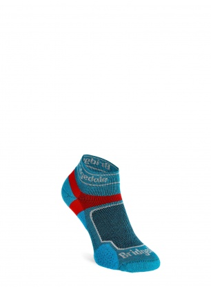 Skarpety do biegania Bridgedale Ultra Lt T2 Coolmax Sport Low - blue