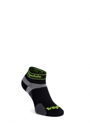 Skarpety do biegania Bridgedale Ultra LT T2 Merino Sport Low - black