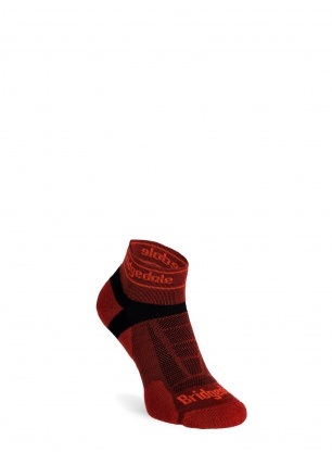 Skarpety do biegania Bridgedale Ultra Lt T2 Merino Sport Low - red