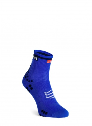Skarpety Compressport Pro Racing Socks v3.0 Run High - blue lolite