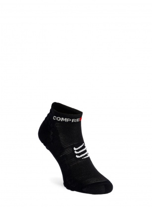 Skarpety Compressport Pro Racing Socks v3.0 Run Low - black