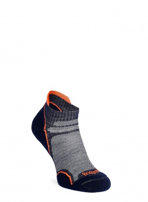 Skarpety damskie Bridgedale UL T2 Merino Performance Low - navy/candy