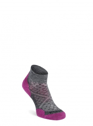 Skarpety damskie Smartwool PhD Run Light Elite Low Cut - mauve