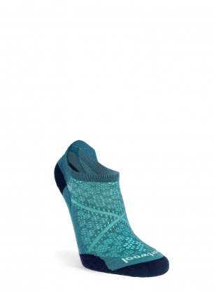 Skarpety damskie Smartwool PhD Run Ultra Light Micro - blue