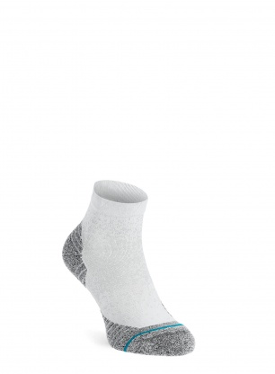 Skarpety do biegania Stance Run QTR ST - white