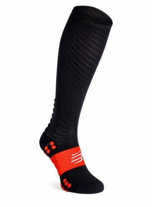 Skarpety kompresyjne Compressport Full Socks Recovery - black