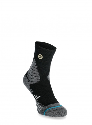 Skarpety Stance Icon Hoops QTR - black
