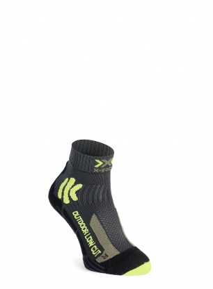 Skarpety X-Socks Trek Outdoor Low Cut - anthracite/lime