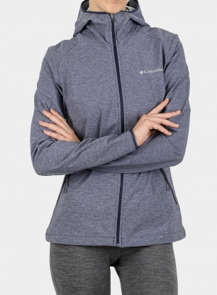 Softshell damski Columbia Heather Canyon Softshell - nocturnal
