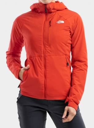 Softshell damski The North Face Circadian Ventrix Jkt - red