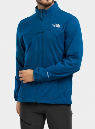 Softshell The North Face Nimble Jacket - moroccan blue