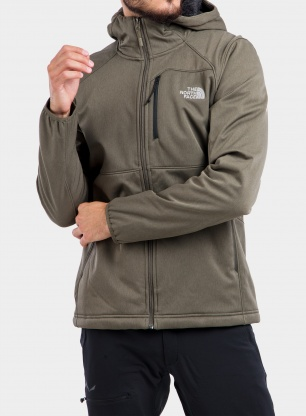 Softshell The North Face Quest Hooded Softshell - new taupe green