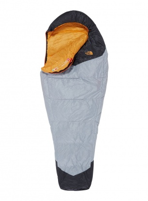 Śpiwór The North Face Gold Kazoo (198 cm) - high rise grey/yellow
