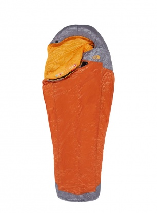 Śpiwór The North Face Lynx (183 cm) - hawaiian sunset orange/zinc grey