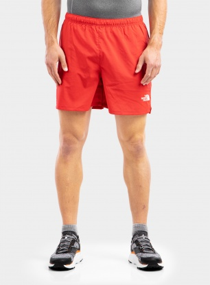 Spodenki biegowe The North Face Movmynt Short - tnf red
