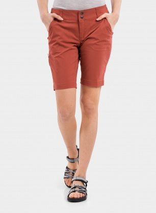 Spodenki damskie Columbia Saturday Trail Long Short - dusty crimson