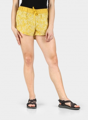 Spodenki damskie The North Face Class V Mini Short - yellow