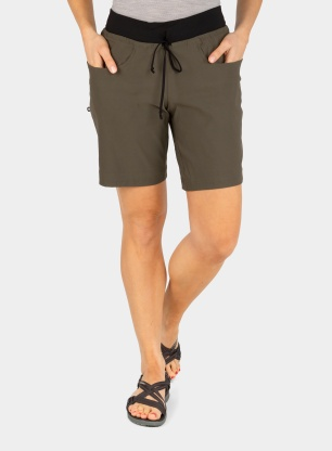 Spodenki damskie The North Face Climb Short - green