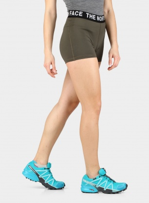 Spodenki damskie The North Face Essential Shorty Short - green
