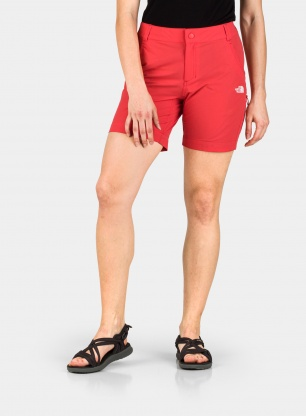 Spodenki damskie The North Face Exploration Short - red