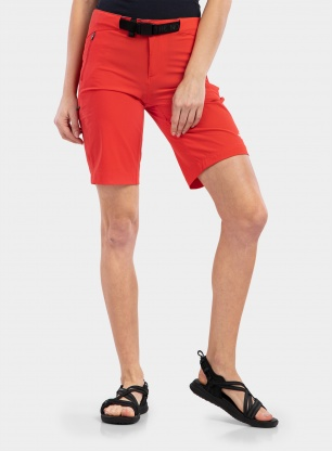Spodenki damskie The North Face Speedlight Short - horizon red