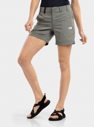 Spodenki damskie The North Face Tanken Short - agave green