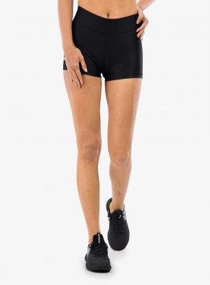 Spodenki damskie Under Armour HG Armour Mid Rise Shorty - blk/wht