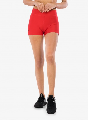 Spodenki damskie Under Armour HG Armour Mid Rise Shorty - red/blk